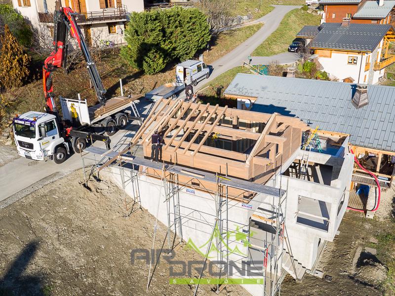 Suivi de chantier construction maison. Architecte F.Boch